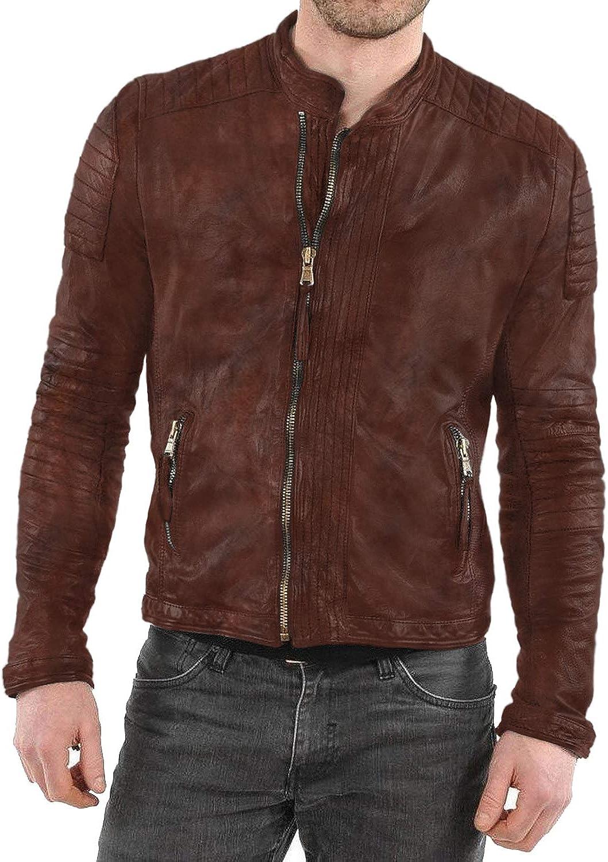 Laverapelle Outlet SALE Men's Genuine Lambskin Jacket Fencin Leather Seattle Mall Black
