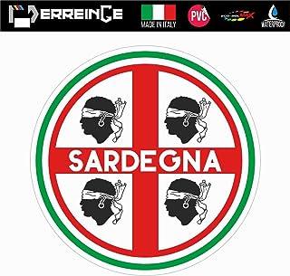 Akachafactory Bandiera bandierina Auto Gagliardetto Nazioni Sardegna sardinnia sardo