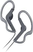 Sony MDRAS210AP/B Sports, Splashproof, Smartphone-Compatible, Wired, Earbuds - Black