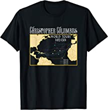 Best Christopher Columbus World Tours with Backprint Columbus T-Shirt Review