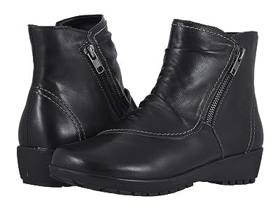 Walking Cradles Zeplin (Black Leather) Women