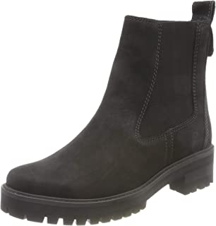 Womens Courmayeur Valley Leather Pull On Mid Calf Winter Boot