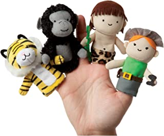 Manhattan Toy Storytime Finger Puppets A Jungle Story Plush