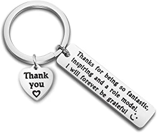 MAOFAED Boss Gift Mentor Gift Boss Thank You Gift Mentor Appreciation Gift Thanks for Being So Fantastic Inspiring and a Role Model Mentor Supervisor Keychain