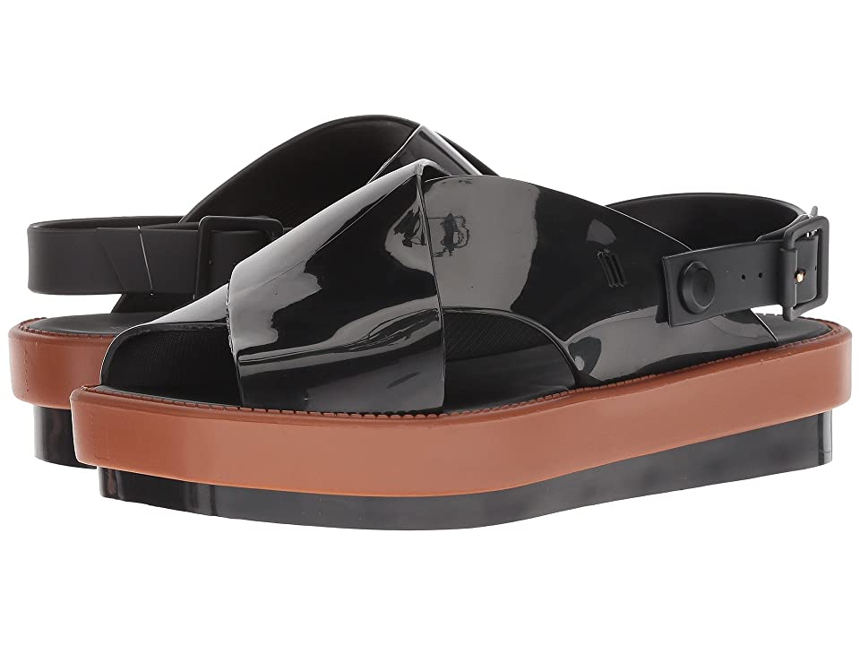 Melissa Shoes Sauce Sandal III (Black/Brown) Women