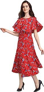 Siril Women's Knee Length Dress.