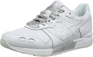 Asics Tiger Women's Gel-Lyte and White Leather Sneakers-5 UK/India (38 EU)(7 US) (1192A034.100)