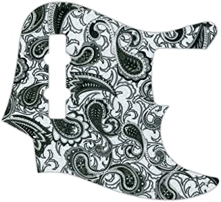WD Custom Pickguard For Fender USA, Made In Mexico, Or Made In Japan 20 Fret Geddy Lee Jazz Bass
