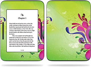 MightySkins Skin Compatible with Barnes & Noble Nook GlowLight 3 (2017) - Pastel Flourishes | Protective, Durable, and Unique Vinyl Decal wrap Cover | Easy to Apply, Remove | Made in The USA