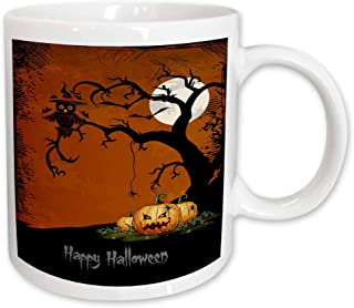 Details about  /Boo Halloween Mug Black Coffee Cup Funny Gift for Witches Ghost Gobblins Fall