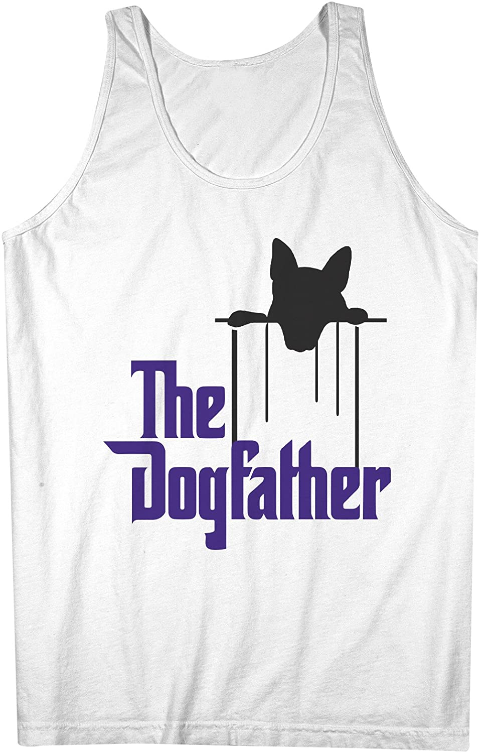 The 犬father おかしいです 犬 Pet Parody 男性用 Tank Top Sleeveless Shirt