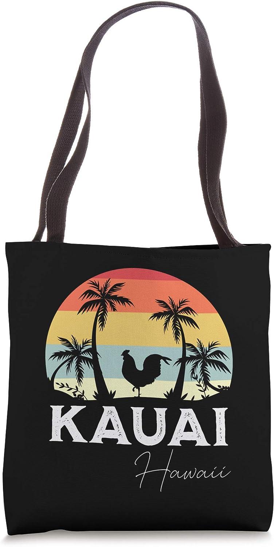 Kauai Hawaii Chicken Lover Souvenir Tote Bag