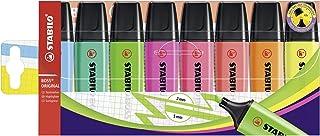 قلم تحديد - STABILO BOSS ORIGINAL- محفظة بها 8 (ألوان متنوعة)