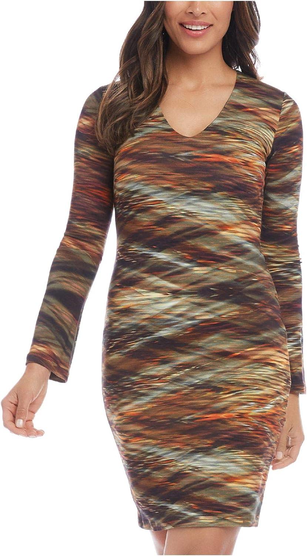Karen Kane Women's V-Neck Sheath Dress