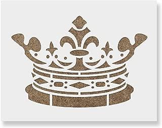 Best queen crown stencil Reviews