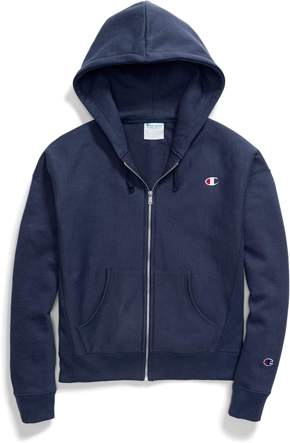 Champion Women's Reverse Weave Hood All stores are sold Limited time for free shipping Full Zip