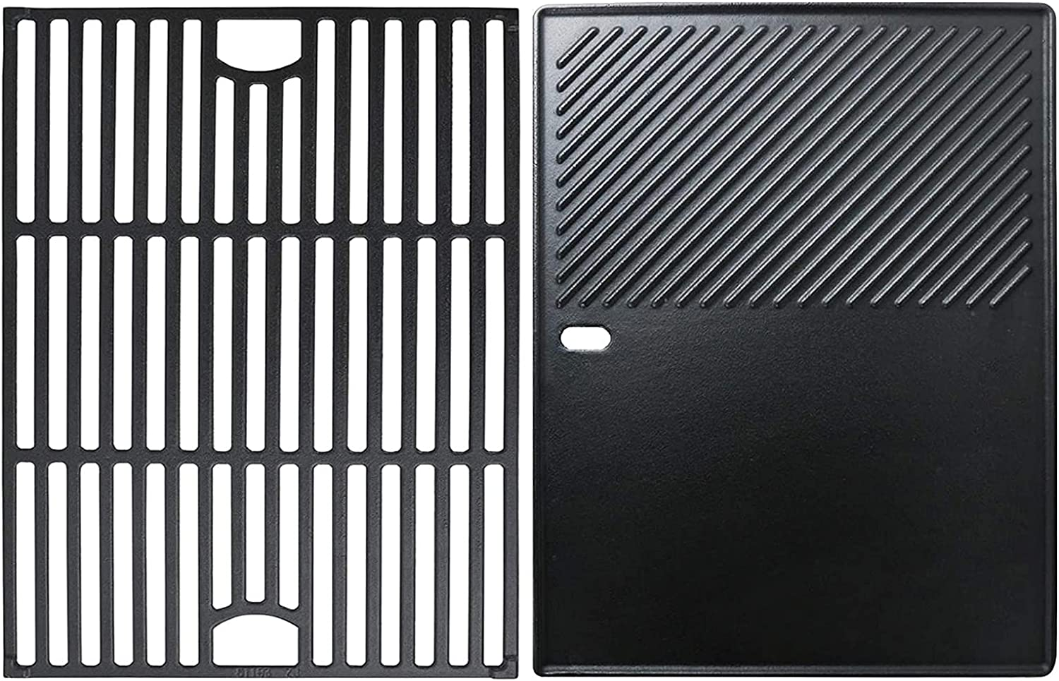 Uniflasy Cast Iron Cooking Grate and Cooking Griddle Replacement for Nexgrill 4 Burner 720-0830H 720-0670A 720-0783E 5 Burner 720-0888N Uniflame GBC981 Replacement for Kenmore 41516106210 415.16106210 : Patio, Lawn & Garden