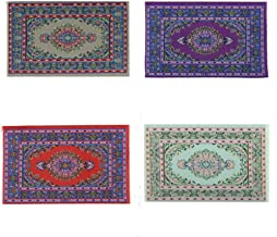 """7-1//2/"""" x 10-1//2/"""" 0001557 1:12 or 1/"""" Scale Dollhouse Miniature Area Rug Approx"""