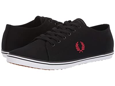 Fred Perry Kingston Twill (Black/Winter Red) Men