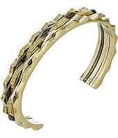 Versace - Tricolor Cuff Bracelet