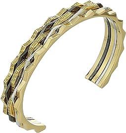 Tricolor Cuff Bracelet