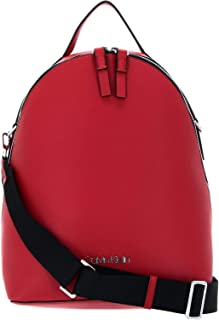 Calvin Klein Women's Strap Backpack, Color: Lipstick Red