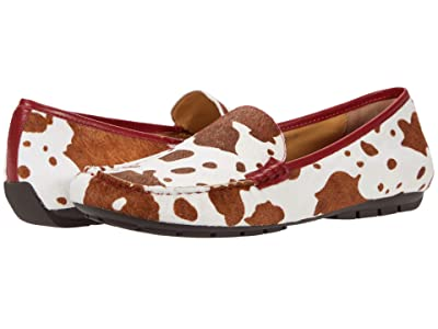 Vaneli Albion (Tan/White Mukki/Red Nappa) Women