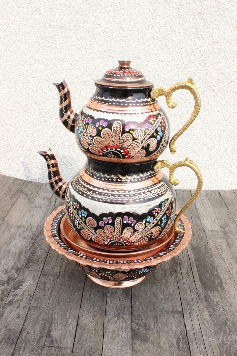 Copper Max 72% OFF Handcrafted Handmade Tea Pot S Kettle Teapot Ranking TOP7 Set