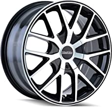 Touren TR60 3260 Black Wheel with Machined Face (18x8