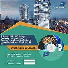 C_THR84_1902 - SAP Certified Application Associate – SAP SuccessFactors Recruiting Marketing (Career Site&Advanced Analytics) Q1 2019 Online Certification Video Learning Success Bundle (DVD)