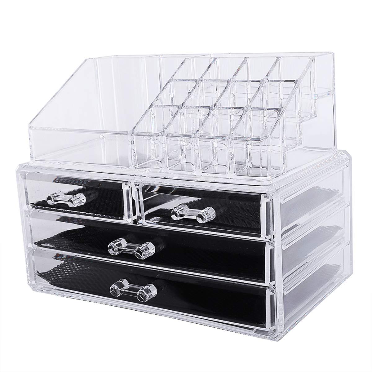 Acrylic Makeup Organizer DIY Large Rack Weekly Sales results No. 1 update Bathroom Holder