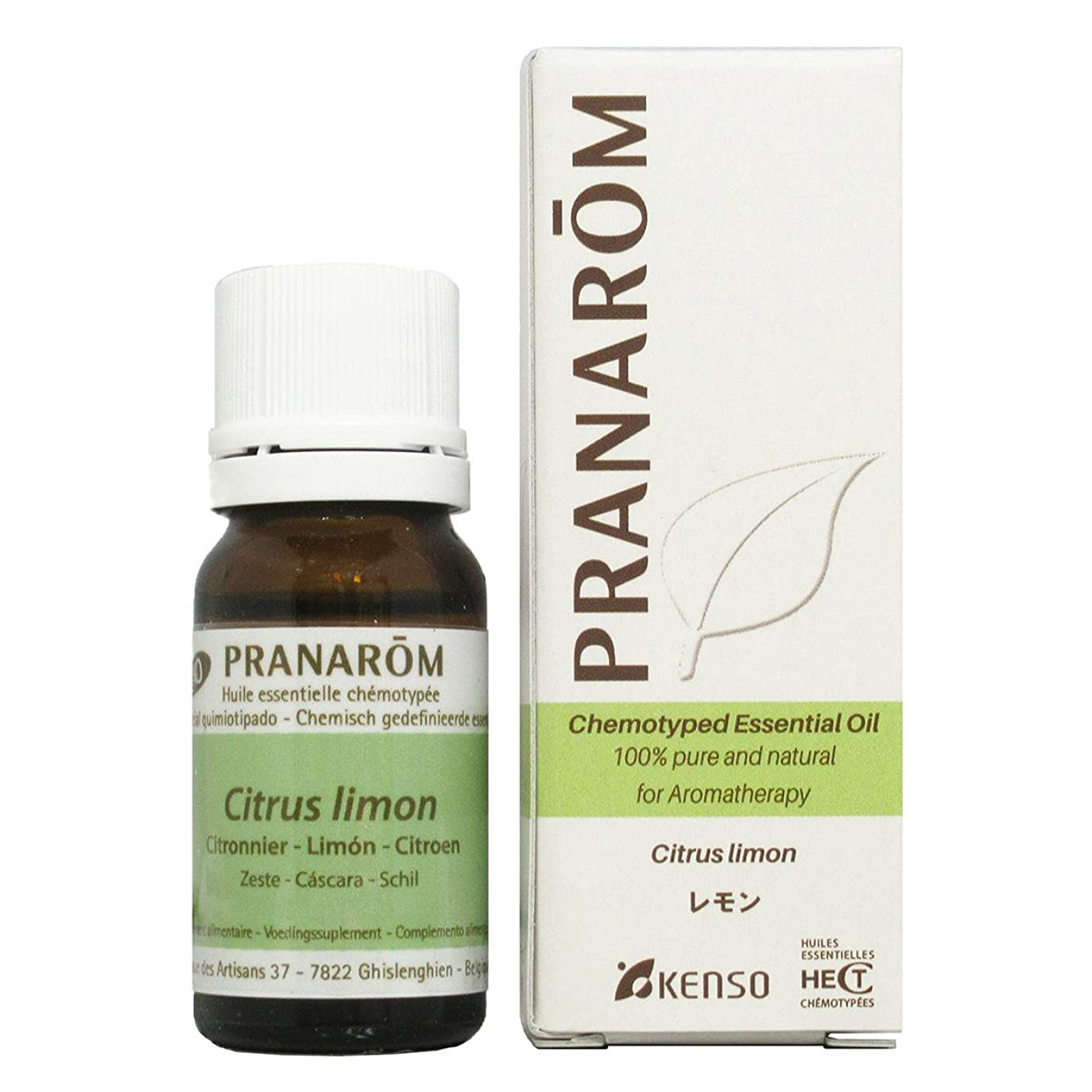 プレフィックス四半期甘美なプラナロム レモン 10ml (PRANAROM ケモタイプ精油)