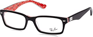Rx5206 Rectangular Prescription Eyeglass Frames