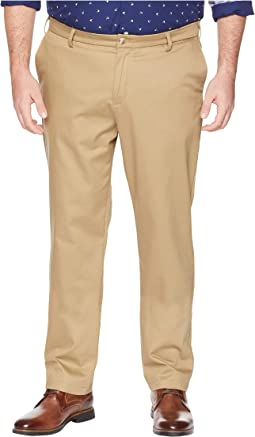 Big & Tall Modern Tapered Signature Khaki Creaseless Pants