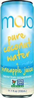 MOJO Pure Coconut Water + Pineapple Juice (Pack of 12)