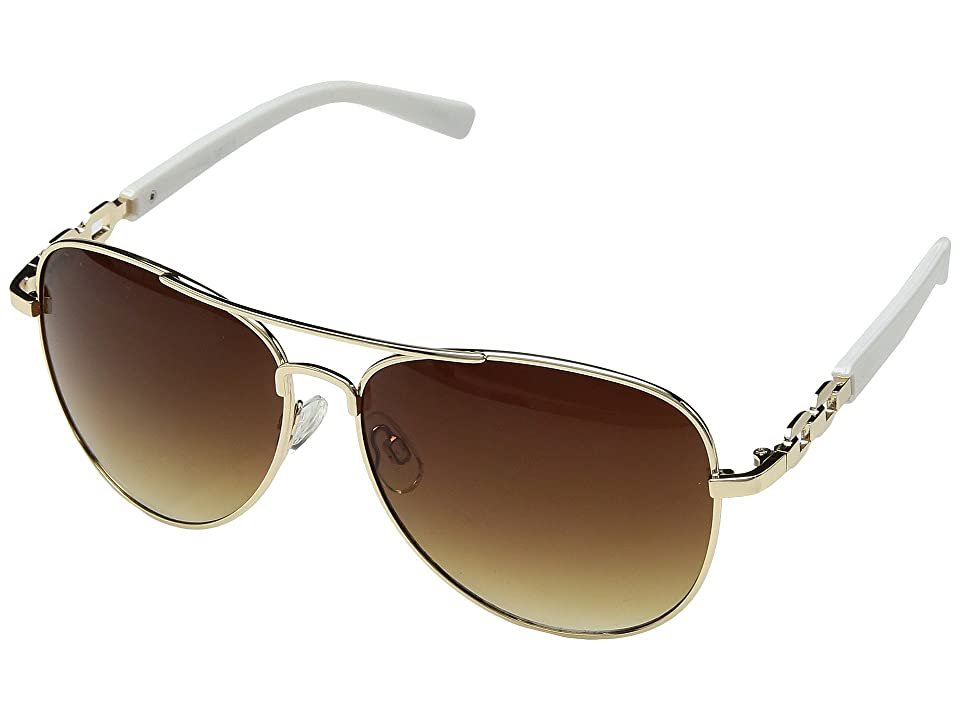 Steve Madden Leah (White) Fashion Sunglasses