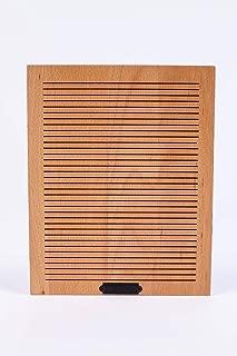 wood board on wall