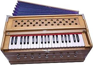 FASHERATI MUSICALS Best Harmonium 9 Stopper, Chudidaar Bellow, 42 key, Two reed, Bass Male, Kapler, Harmonium with Cover D...