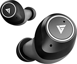 Boult Audio AirBass Q10 TWS Earbuds with 24H Total Playtime, Touch Controls, IPX5 Water Resistant and Voice Assistant (Black)