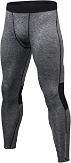 Men's Compression Pants Gym Fitness Leggings Exercise baselayers Workout Tights
