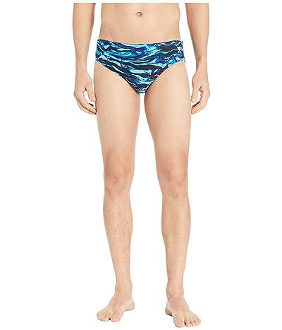 TYR Racer Miramar Swim Briefs (Blue) Men