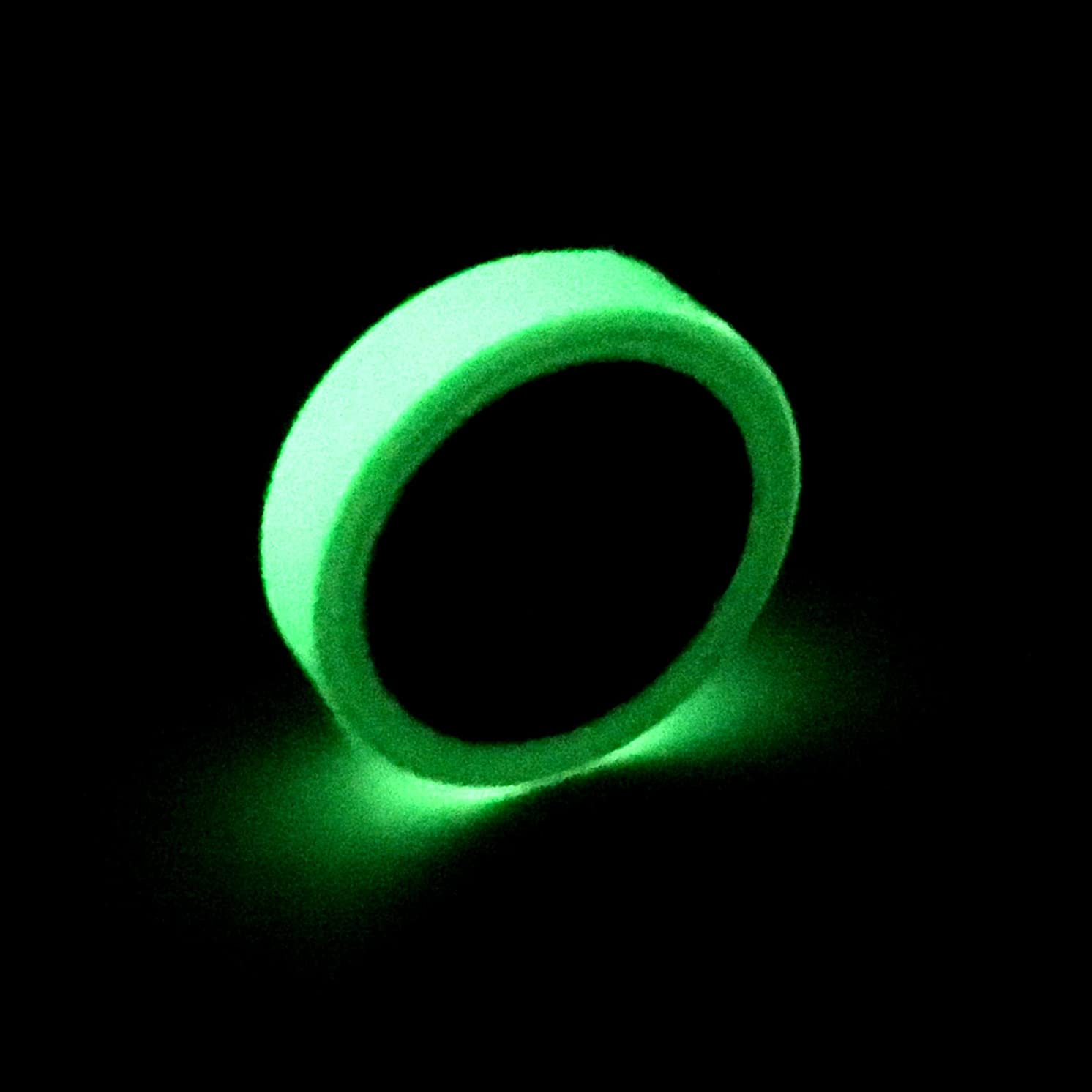 Fun Central BC757, 1 Pc, 30 Ft by 1 Inch Glow in The Dark Tape, Glowing Tape, Neon Glow Tape, Glow in The Dark Reflective Tape, Glow Masking Tape