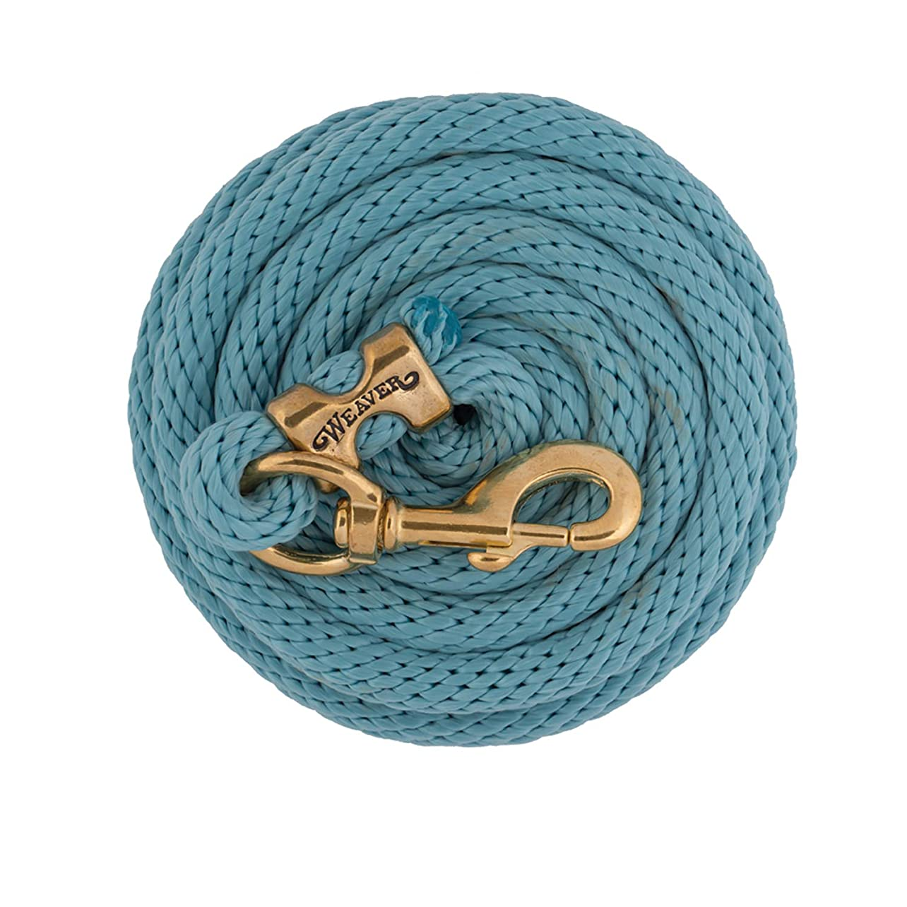 Weaver Leather Poly Lead Rope with a Solid Brass 225 Snap pfeanwpxqbe40