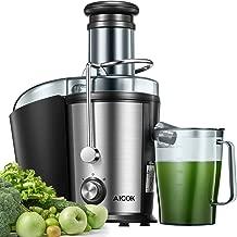 Licuadoras Para Verduras y Frutas, Aicok 800W Centrífugo