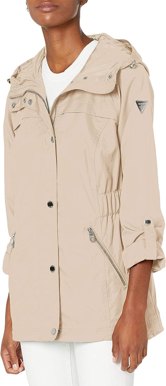 GUESS Womens Ladies Long Sleeve Anorak Jacket