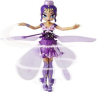 해치멀 픽시 크리트탈 플라이어 퍼플 Hatchimals Pixies, Crystal Flyers Purple Magical Flying Pixie Toy, for Kids Aged 6 and up