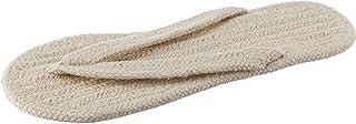 Muji Indian Cotton Room Sandals Thong, Large, 25-26.5cm, Ecru