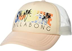 ee21c6b59f3ba New. Just Peachy. 1. Billabong. Across Waves Hat