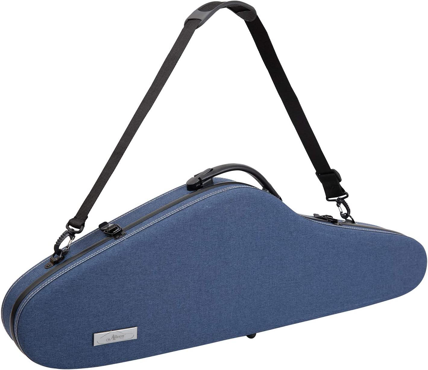 Aileen Violin Hard Case 4 Full Fabric Covered Size Cheap bargain with Luxury Opening large release sale