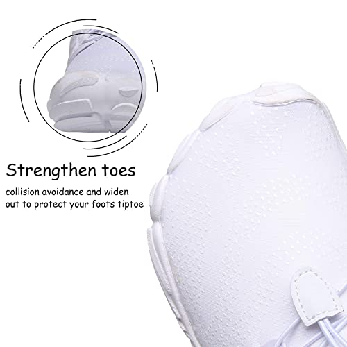Size:7-12 EVGLOW Mens Wide Minimalist Trail Running Shoes Barefoot Cross Training Shoe for Gym Wokout